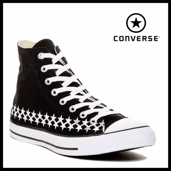 617dee3be8556a CONVERSE STAR CANVAS HIGH TOP CHUCK TAYLOR SNEAKER